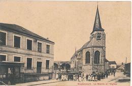 GUYANCOURT - LA MAIRIE ET L'EGLISE - Guyancourt