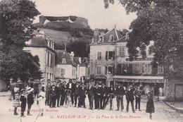 Mauleon La Place Du Jeu De Paume - Mauleon Licharre
