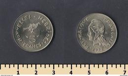 New Hebrides 5 Francs 1979 - Other - Oceania
