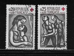 FRANCE  ( FRO6 - 42 )  1961  N° YVERT ET TELLIER  N° 1323/1324 - Used Stamps