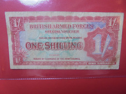 GRANDE-BRETAGNE 1 Shilling 1948 Circuler (B.22) - Forze Armate Britanniche & Docuementi Speciali