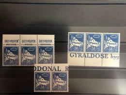 ALGERIE PUBLICITES N° 47 ** (les 8 Timbres) - Argelia (1962-...)