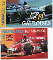 MONACO AUTOCOLLANT FORMULE 1 PUBLICITE GAULOISES FORMULA - Automobilismo - F1