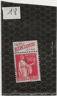 L10 N° 283 PUB BENJAMIN - Publicidad