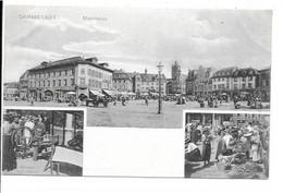 Darmstadt - Marktplatz. - Darmstadt