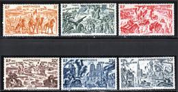 Martinique PA 1946 Yvert 7 / 12 ** TB Bord De Feuille - Luchtpost