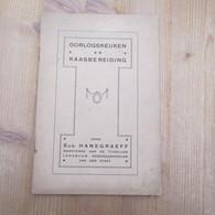Oorlogskeuken En Kaasbereiding Eerste Wereldoorlog 26 Blz Kookboekje Rare - War 1914-18