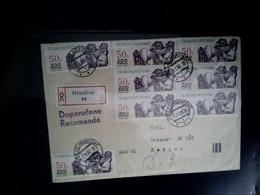 Postal Envelope, Czechoslovakia, Registered, ZOO Prague, Sent To Kosice, Price 4 Euros - Sin Clasificación