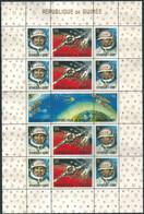 C1654 Guinea Space Travelling Manned Flight Voskhod-2 Walk Astronaut S/S Mint No Gum - Africa