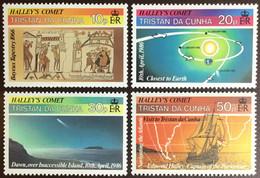 Tristan Da Cunha 1986 Halley's Comet MNH - Tristan Da Cunha