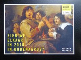 Oudenaarde;: Adriaen Brouwer, Vlaamse Meesters 2018-2020 --> Onbeschreven - Oudenaarde