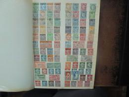 EUROPE DE L'OUEST ANCIENS/RECENTS BEL ALBUM BIEN FOURNI MAJORITES OBLITERES (RH.82) 1 KILO 200 - Verzamelingen (in Albums)
