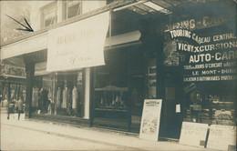 03 VICHY / Boutique Touring Car  / BELLE CARTE PHOTO RARE - Vichy