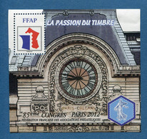 ⭐ France - Bloc Souvenir FFAP - YT N° 6 ** - Neuf Sans Charnière - 2012 ⭐ - FFAP