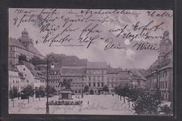 NBL5 /    Weissenfels , Markt 1908 - Weissenfels