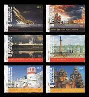 United Nations (Vienna) 2020 Mih. 1091/96 UNESCO World Heritage In Russia (II) MNH ** - Nuevos