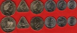 Cook Islands Set Of 6 Coins: 10 Cents - 5 Dollars 2015 UNC - Cook Islands
