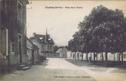 72 -  Challes (Sarthe) - Place De La Mairie - Andere Gemeenten