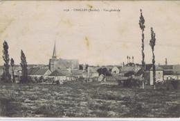 72 -  Challes (Sarthe) - Vue Générale - Andere Gemeenten
