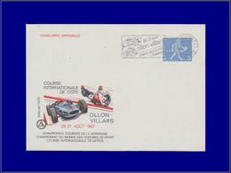 """Motos - Année: 1967 - SUISSE,ENV. ILL. LAUSANNE 1:""""Ollon,championnat Du Monde+Europe"""".Auto*,moto*. - Moto"""