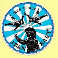 AUTOCOLLANT STICKER - PARA GROUPE JEAN BART DUNKERQUE - PARACHUTISME - SPORT - Stickers