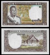 LAOS BANKNOTE - 20 KIP (1963) P#11a UNC (NT#03) - Laos