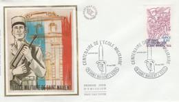 FDC 1981 CENTENAIRE DE L'ECOLE DE SAINT MAIXENT - 1980-1989