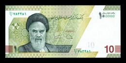 Iran 100000 Rials Ayatollah Ruhollah Khomeini 2021 Pick New SC UNC - Iran