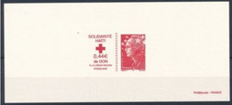 France 2010  Red Cross Croix Rouge Epreuve  MNH - Nobelpreisträger