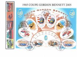Enveloppe 1er Jour, La Coupe Gordon Bennett, Bloc 86, 2005 (YT Bf 86) - 2000-2009