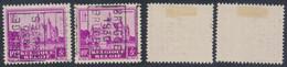 """Antituberculeux (Chateaux) - N°308 Préo """"Brugge 1930 Bruges"""" Position A/B - Rollini 1930-.."""