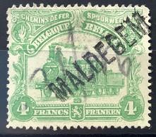 TR76 Gestempeld GRIFFE MALDEGEM - 1915-1921