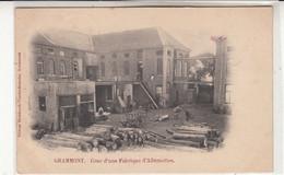 Geraardsbergen   Gramont  FABRIQUE  D'Allumettes Cachet 1902 - Geraardsbergen