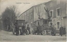 Fargues - Magnifique Carte Des Autobus - Angles Légèrement Arrondis - Langon