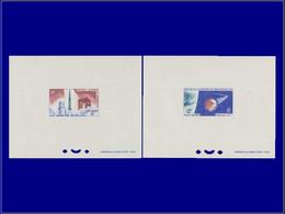 Astronautique - Année: 1966 - NLLE CALEDONIE,YV. PA 84/5,2 EP. DE LUXE:Diamant*,A1* - Non Classificati