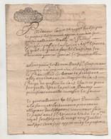 Saint Etienne 1707 - Manoscritti