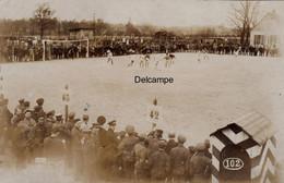 """CP Photo : Camp De Prisonniers De Guerre """" Münster """" - Match De Football Entre Prisonniers 1918 - War, Military"""