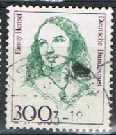 ALL-325 - RFA  ALLEMAGNE FEDERALE N° 1265 Obl. Fanny Hensel Musicienne - Gebraucht
