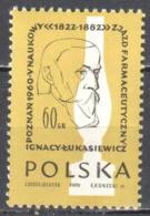 Poland 1960 - Lukasiewicz And Kerosene Lamp - Mi 1178 - MNH(**) - Postfrisch - Nuevos