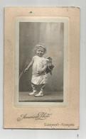 Photographie Enfant Ange Avec Arc Flèches Photo Cdv Américan De Clermont Ferrant - Ancianas (antes De 1900)