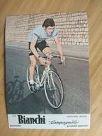 Cyclisme - Carte Publicitaire BIANCHI 1977 : Serge DEMIERRE - Ciclismo