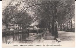 Cpa RAMBERVILLERS - Un Coin Des Promenades . - Rambervillers