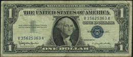 ♛ U.S.A. UNITED STATES Of AMERICA - 1 Dollar 1957 {series 1957B} {sign. Granahan & Dillon} Fine P.419 B - Certificati D'Argento (1928-1957)