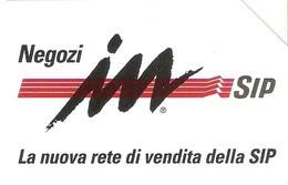 *ITALIA - SIP: NEGOZI IN SIP* - Scheda Usata (variante 352a) - Errori & Varietà