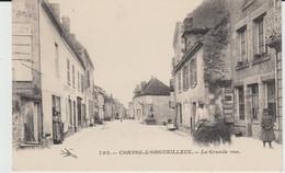 CORVOL L'ORGUEILLEUX (58) - La Grande Rue - Bon état - Otros Municipios