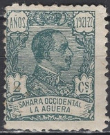 La Agüera - Definitive - 2 C - King Alfonso XIII - Mi 15 - 1923 - Aguera