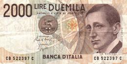 ITALIE 2000 LIRE 1990 - 2000 Lire