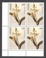 Guyana, 1988, Orchids, MNH Block, Michel 2456 - Guiana (1966-...)