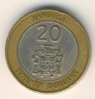 JAMAICA 2000: 20 Dollars, KM 182 - Jamaica