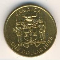 JAMAICA 1993: 1 Dollar, Magnetic, KM 145a - Jamaica